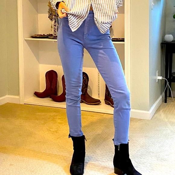 Light blue Joe's skinny jeans